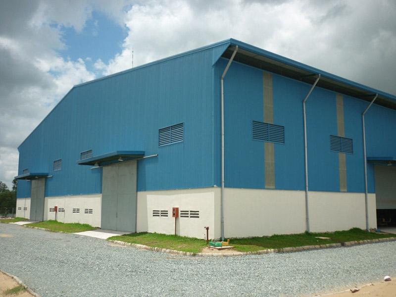 Dịch vụ sửa chữa, cải tạo nhà xưởng tại Bình Dương
