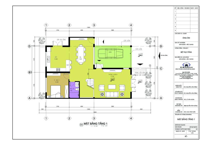 Thiết kế bản vẽ xây dựng nhà tại Bình Dương