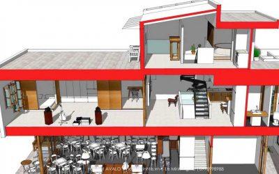 Thiết kế xây dựng nhà ở kiêm kinh doanh tại Bình Dương
