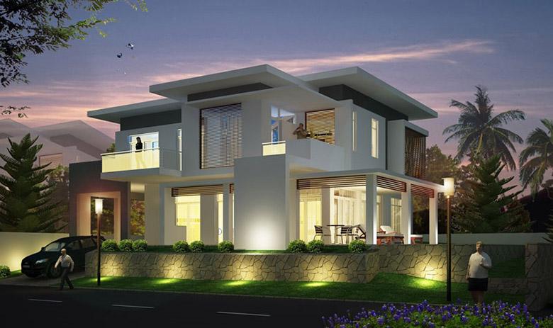 Thiết kế thi công xây dựng nhà biệt thự Bình Dương